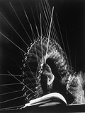 Stroboscopic Image of the Hands of Russian Conductor Efram Kurtz, While Conducting Metal Print by Gjon Mili
