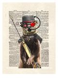 Salty Otter Posters by Matt Dinniman