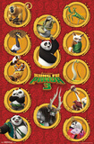 Kung Fu Panda 3 - Grid Poster