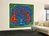 Untitled Pop Art Reproduction murale (géante) par Keith Haring