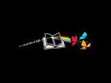 Dark Side of the Reading Rainbow Plakater af Boots