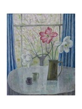 Tulips with Cherry Blossom, 2014 Giclee Print by Ruth Addinall