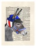 Eli Wonder Donkey Poster by Matt Dinniman