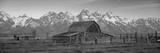 Barn Grand Teton National Park WY USA Fotografisk trykk av Panoramic Images,