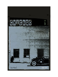 Vice City - Chicago grey Metal Print by Pascal Normand