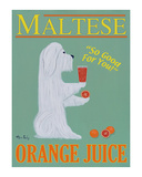 Maltese Orange Juice Limited Edition by Ken Bailey