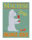 Maltese Orange Juice Limited Edition by Ken Bailey