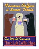 Three Lab Coffee Shop Limited Edition by Ken Bailey