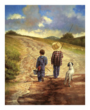 A Fine Afternoon for Fishing Giclee Print by Jim Daly