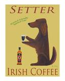 Setter Irish Coffee Limitierte Auflage von Ken Bailey