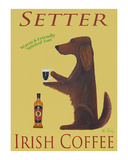 Setter Irish Coffee Edición limitada por Ken Bailey