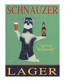 Schnauzer Lager Limited edition van Ken Bailey