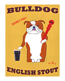 Bull Dog English Stout Limited Edition by Ken Bailey