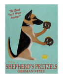 Shepherd's Pretzels Limited Edition by Ken Bailey