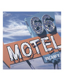 66 Motel Affischer av Anthony Ross