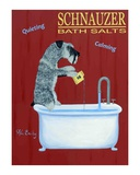 Schnauzer Bath Salts Limited Edition by Ken Bailey