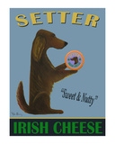 Setter Irish Cheese Limited Edition by Ken Bailey