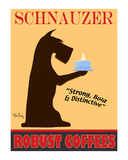Schnauzer Premium Coffees Limited Edition by Ken Bailey