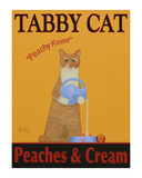 Tabby Cat Peaches & Cream Limited Edition by Ken Bailey