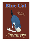 Blue Cat Creamery Limited Edition by Ken Bailey