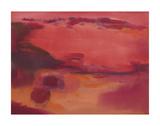 Adrift in Red Posters by Nancy Ortenstone