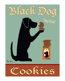 Black Dog Cookies Limited Edition by Ken Bailey