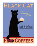 Black Cat Coffee Limited Edition by Ken Bailey