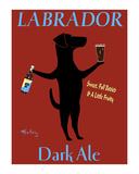 Labrador Dark Ale Limited edition van Ken Bailey