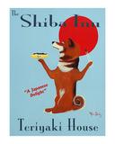The Shiba Inu Teriyaki House Limited edition van Ken Bailey