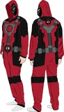 Deadpool Fleece Jumpsuit Sleepwear