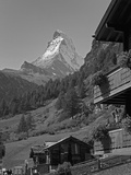 Matterhorn, Zermatt, Canton Valais, Swiss Alps, Switzerland, Europe Photographic Print by Angelo Cavalli