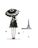 A Day of Rain in Paris Art by Jessica Durrant
