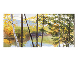 Autumn Lake IV Prints by Elissa Gore