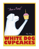 White Dog Cupcakes Limited Edition by Ken Bailey