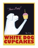 White Dog Cupcakes Edizione limitata di Ken Bailey