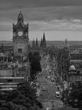 Princes St., Calton Hill, Edinburgh, Scotland Photographic Print by Doug Pearson