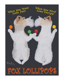 Fox Lollipops Limited Edition by Ken Bailey