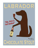 Labrador Chocolate Stout Limited edition van Ken Bailey