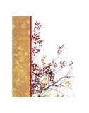Autumn Impasto Print by Erin Clark