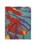 Abstract Painting, c. 1982 (aqua, red, indigo, yellow) Plakater af Andy Warhol