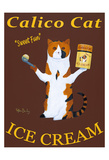 Calico Cat Ice Cream Limited Edition by Ken Bailey