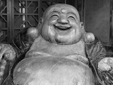 Laughing Buddha, Tanzhe Temple, Beijing, China, Asia Photographic Print by Jochen Schlenker