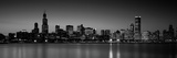 Dusk, Skyline, Chicago, Illinois, USA Photographic Print by  Panoramic Images