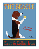 The Beagle Bistro & Coffee House Limited Edition by Ken Bailey