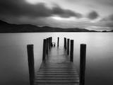 Bahía de Barrow, Derwent Water, Distrito de los Lagos, Cumbria, Inglaterra Lámina fotográfica por Gavin Hellier