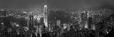Victoria Harbour og horisonten fra Peak, Hong Kong, Kina Fotografisk trykk av Michele Falzone