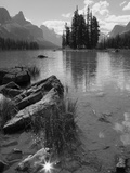 Spirit Island, Maligne Lake, Jasper National Park, UNESCO World Heritage Site, British Columbia, Ro Photographic Print by Martin Child