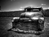 Chevrolet-lastbil Fotografisk tryk af Stephen Arens