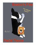 Boston's Fine Facial Tissue Limited Edition by Ken Bailey