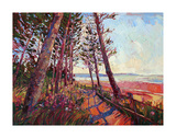 Against the Coast Art by Erin Hanson